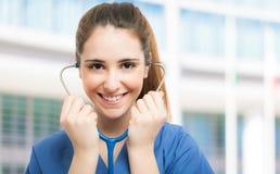 Портрет медсестры Стоковое фото RF