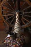 Традиционная бутылка вина Стоковые Изображения RF