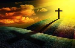 基督徒交叉 库存图片