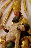 与圣子的虔诚圣父 库存照片