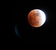 月球的蚀 库存图片