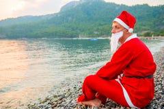 圣诞老人假日 库存照片