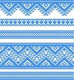 Κεντημένο αγαθό όπως τη χειροποίητη διαγώνιος-βελονιά εθνική Στοκ Εικόνες