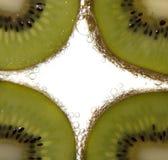 Ломтики кивиа Стоковое Фото