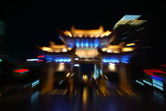 стародедовские здания китайские Стоковое фото RF