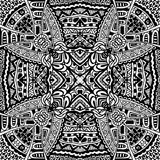 Племенная винтажная этническая безшовная картина Стоковые Фотографии RF