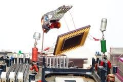 подъем ремонта компьютера Стоковая Фотография RF
