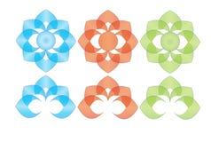 Логотип лотоса Стоковые Фото