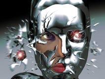 机器人秀丽 免版税库存照片