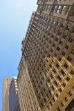 共同的建筑学在曼哈顿纽约 图库摄影