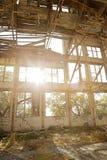被放弃的大厦 免版税图库摄影