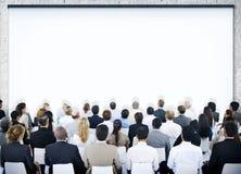 Группа людей в семинаре Стоковая Фотография