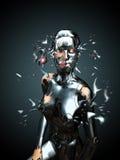 机器人秀丽 免版税图库摄影