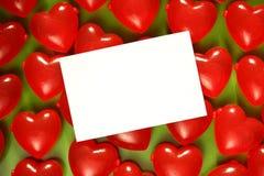 влюбленность сердец Стоковая Фотография RF