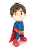 超级男孩 库存图片