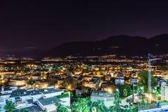 阿斯科纳天线,瑞士 图库摄影