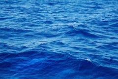 Βαθιά μπλε υπόβαθρο νερού στο μπλε Στοκ φωτογραφίες με δικαίωμα ελεύθερης χρήσης