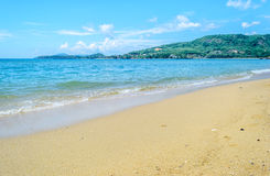 卡玛拉海滩普吉岛泰国 库存照片