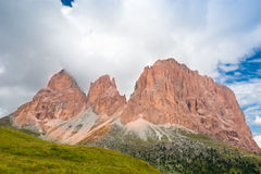 阿尔卑斯白云岩意大利 免版税库存图片