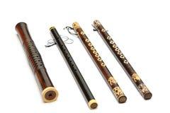 为吹的泰国乐器 免版税图库摄影