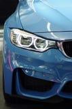 Новая фара автомобиля Стоковые Фото