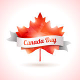 加拿大天,传染媒介例证 库存图片