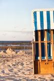 海滩季节的结尾 库存图片