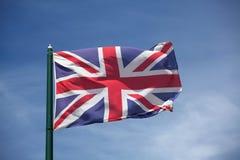 英国的旗子 库存图片