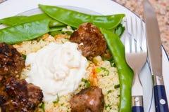 πιάτο γεύματος Στοκ Φωτογραφίες