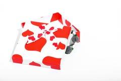 Подарочная коробка влюбленности Стоковое Изображение RF