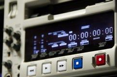广播记录器 免版税库存照片