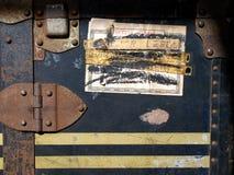 案件标签贴纸旅行葡萄酒 图库摄影