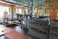 配药和化工业 在植物的制造 库存照片