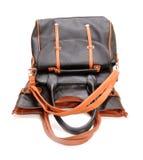Кожаные сумки Стоковая Фотография
