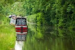运河 英国牛津 免版税库存图片