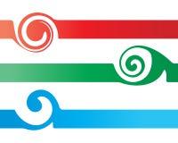 знамя Стоковая Фотография