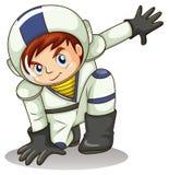 一位年轻宇航员 免版税库存照片