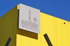 Город Брисбена - Квинсленда Австралии Стоковое Изображение RF