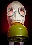 Πρόσωπο σε μια μάσκα αερίου Στοκ εικόνες με δικαίωμα ελεύθερης χρήσης