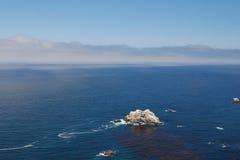 太平洋海岸 免版税图库摄影