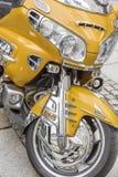 摩托车细节  免版税库存图片