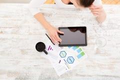 Ανάπτυξη ενός επιχειρηματικού σχεδίου Στοκ Εικόνες