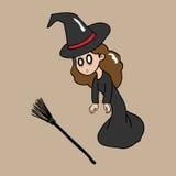 Оглушенная ведьма Стоковые Изображения RF