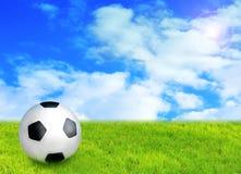 футбол принципиальной схемы Стоковое Изображение RF
