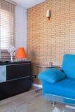 фура софы комнаты углового обеда нутряная живущая Стоковое Изображение RF