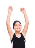 Το κορίτσι με κολυμπά με αναπνευτήρα εξοπλισμός Στοκ φωτογραφία με δικαίωμα ελεύθερης χρήσης