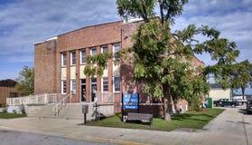 Здание муниципалитет Орегона двухместного экипажа Стоковое Изображение