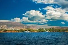 希腊海岛 库存照片
