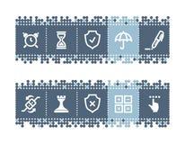 棒图标软件 免版税图库摄影