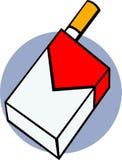 διάνυσμα καπνών καπνίσματο& Στοκ εικόνα με δικαίωμα ελεύθερης χρήσης
